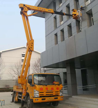 22米混合式高空作业车